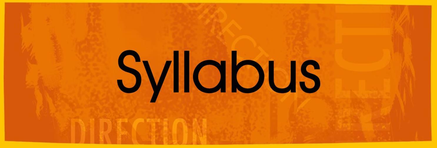 catalog course syllabus Â